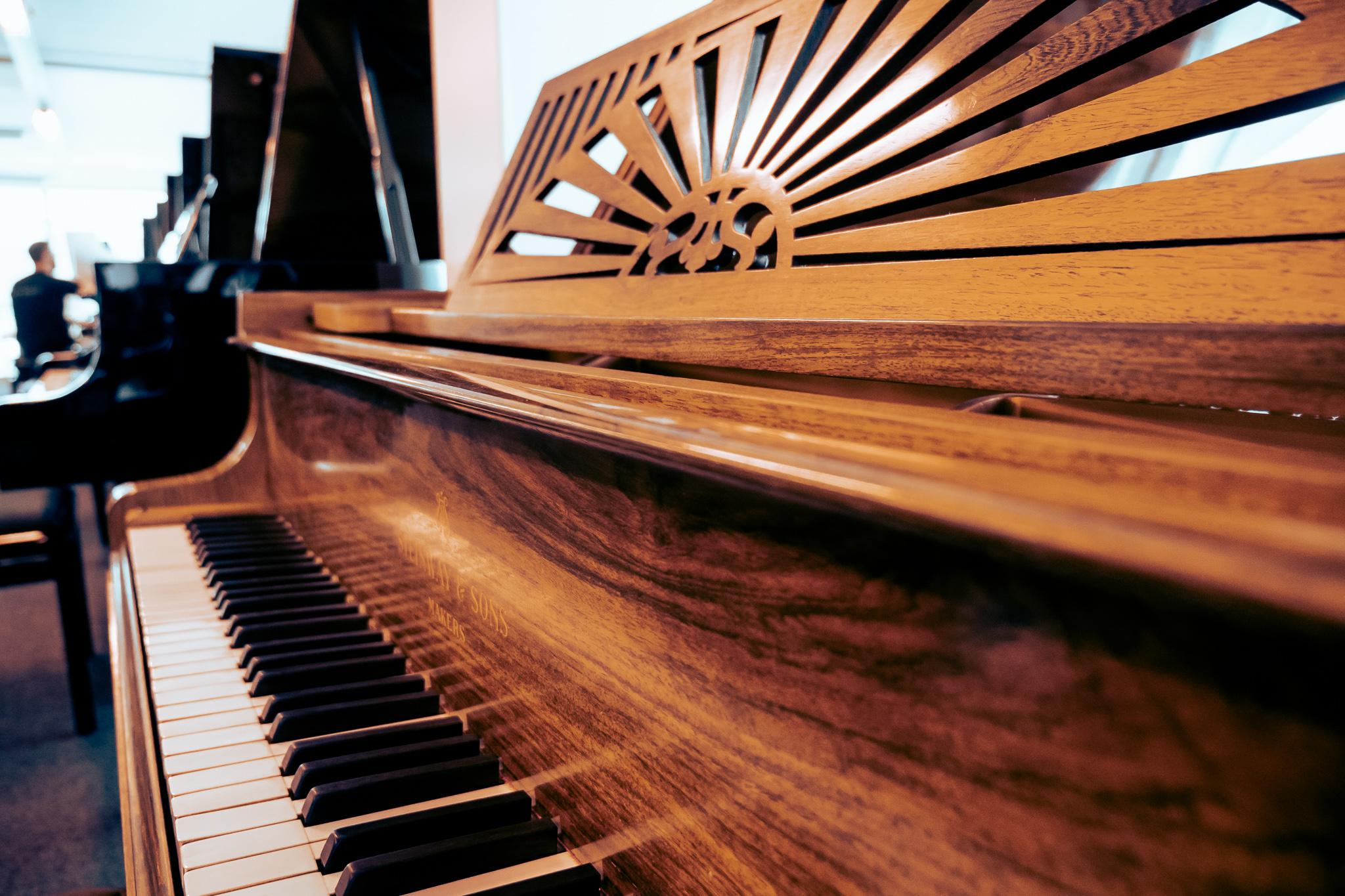 Tweedehandse piano's