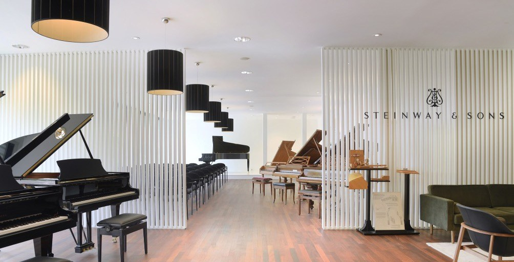 Piano's Maene Alkmaar Steinway Piano Gallery