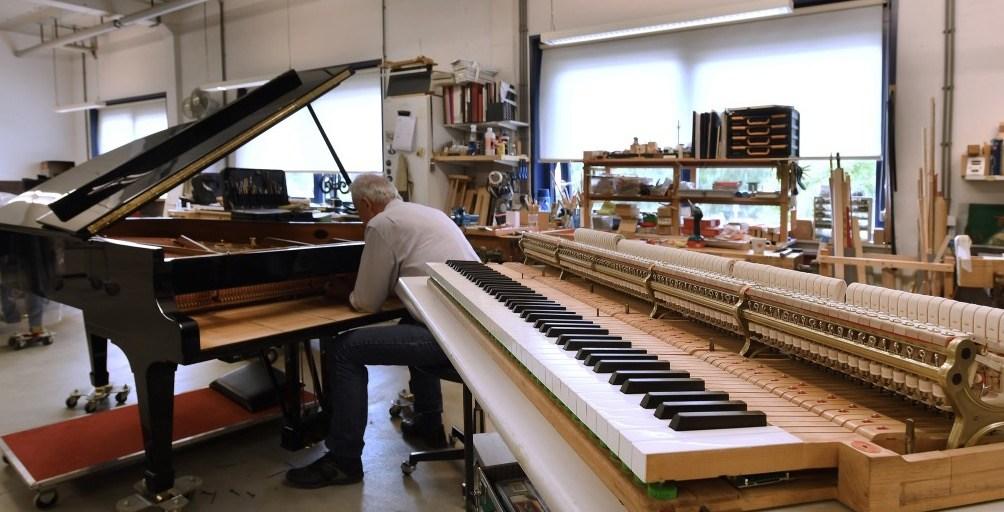 Piano Technisch Atelier Maene Alkmaar