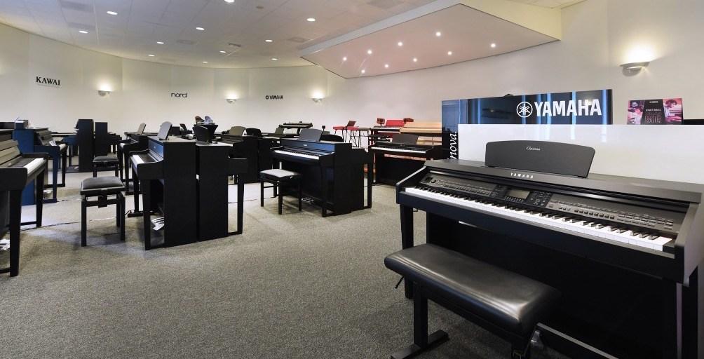 Alkmaar showroom digitale piano