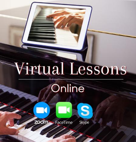 Piano spelen met app