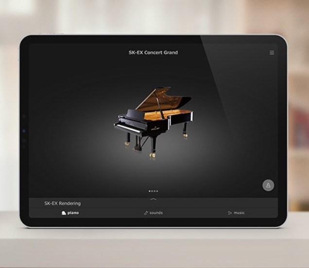 Kawai Piano Remote app