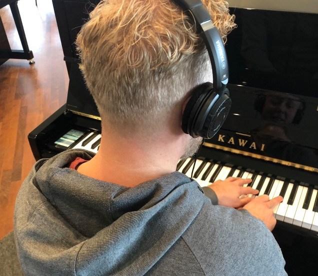 Stil-akoestische piano
